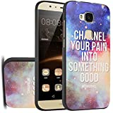 MOONCASE Huawei G8 Hülle, [Universe Galaxy] Kreativ Bunt