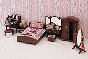 Sylvanian Families 4701 Luxury Master Bedroom Furniture Set