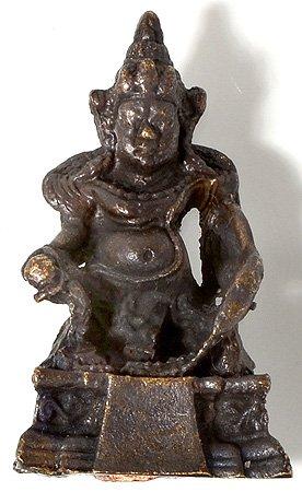Buda figuras–Jambhala–kúbera el Dios del reichtums y wohlstands Estatua estatua tibetana