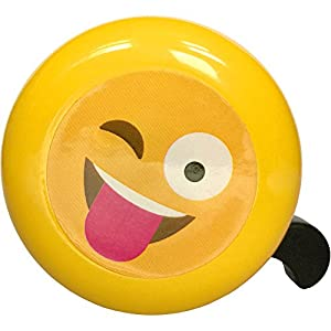 Bikes&.co Kids emoji bike bell for boys and girls children's cycles or toy scooters from New for 2017