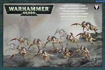 Games Workshop Jeux Atelier 251765069290,8cm Warhammer 40K Tyranid Hormagaunt Brood 2010Action Figure