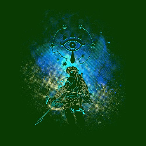 Breath Of The Wild Legend Of Zelda Women's T-Shirt Bottle Green