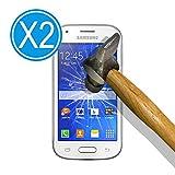 WoowCase 9H Tempered Glass [2 Unidades] Protector de Pantalla para [ Samsung Galaxy Ace Style LTE G357FZ ] Cristal Vidrio Templado Premium, Ultra Resistente a Arañazos, Dureza 9H