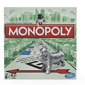 Hasbro Gaming - Monopoly clásico, juego de mesa (00009) (versión inglesa)