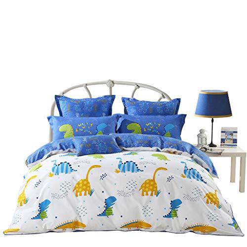 GAIHU Kinder - Bett 4 Stück Baumwolle Cartoon 1.8M Blatt Quilt Betten Betten,1.5M