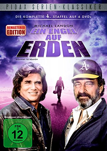 Ein Engel auf Erden - Staffel 4 (Highway To Heaven) - Remastered-Edition / Die komplette 4. Staffel der Kult-Serie mit Michael Landon (Pidax Serien-Klassiker) [6 DVDs]