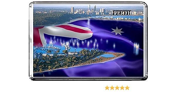 C391 PERTH AIMANT POUR LE FRIGO AUSTRALIA TRAVEL PHOTO REFRIGERATOR MAGNET