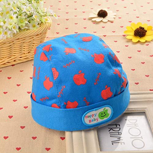 ChildHat 2018 Hut für Kinder,Babymütze nd0059 Babymütze Piratenhut Monat Männer und Frauen Baby, Apfel dunkelblau, 3-10 Monate ()