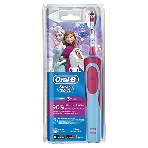 Oral-B Stages Power Kids - Cepillo de dientes eléctrico, con los pers
