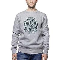 Three Monkeys Arizona Wild Horse Rodeo Animals Collection Men's Unisex Sweatshirt