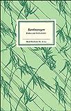 Bambusregen: Haiku und Holzschnitte aus dem »Kagebôshishû« (Insel-Bücherei)