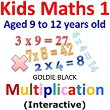 Kids Math for Kids : Multiplication for Kids (Interactive) (English Edition)
