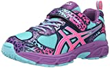 ASICS Pre Turbo PS Girls Running Shoe (Infant/Toddler/Little Kid), Turquoise/Hot Pink...