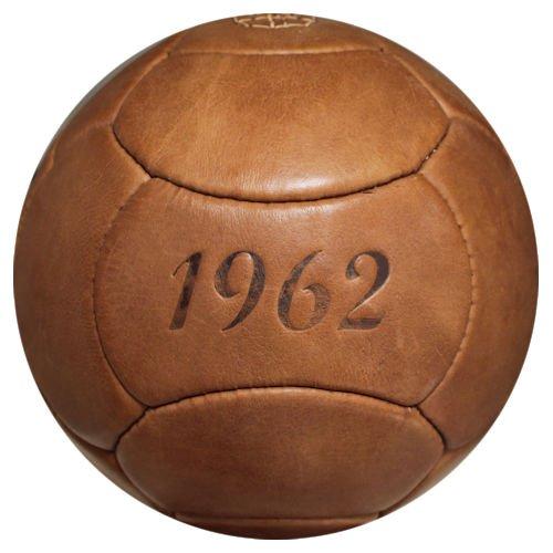 Retrofußball, Fußball Retro 1962, Echtleder