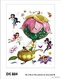 AG Design Wand Sticker DK 884 Disney Fairies
