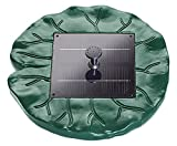 Pontec PondoSolar Lily Island Schwimmendes Solar Wasserspiel-SET