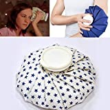 Horlite Ice Cold Pack Reusable Ice Bag Hot Water Bag for Injuries, Hot & Cold Therapy and Pain Relief (9 Inch)