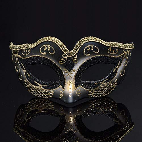 Günstige Mardi Gras Maske - YULEJIA Maskerade Masken,Venedig Halloween Paare Party