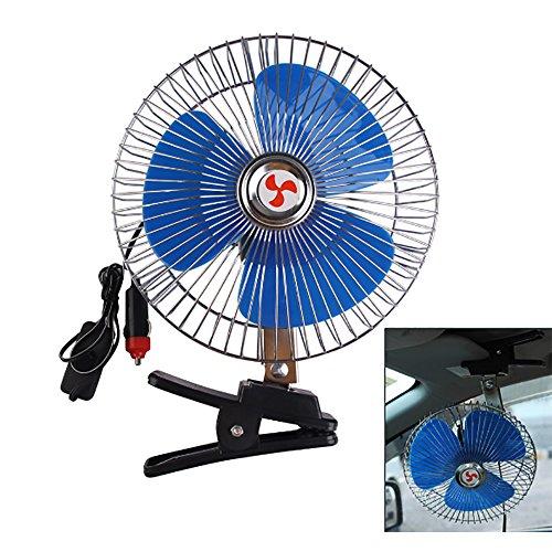 Car Fan 12 V 10 Zoll Auto Fan Auto Fahrzeug Lüfter Belüftung Elektrische Auto Fans mit Clip Zigarettenanzünder Für Sommer