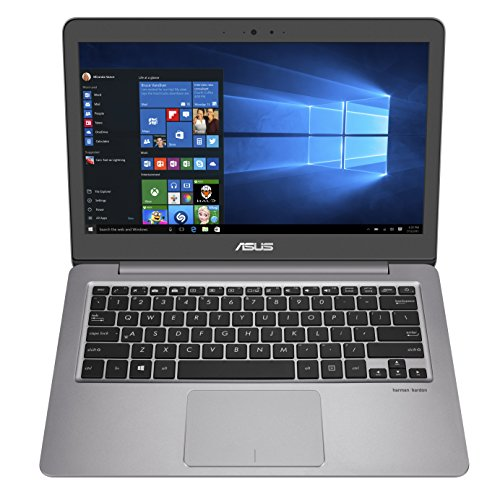 Asus UX310UA-GL100T Portatile, Display 13.3', Processore Intel Core i3-6100U, RAM 4 GB, HDD da 500 GB, Grigio