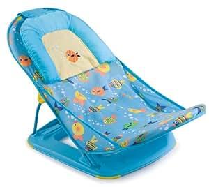 Summer Infant - 08404 - Deluxe Baby Bather - Transat de bain - Bleu