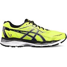Asics–Zapatillas gel de glorify 3Amarillo/Azul/Negro, safety yellow/indigo blue /black, 44.5