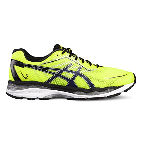 Asics Performance Uomo Scarpe da corsa safety yellow/indigo blue /black