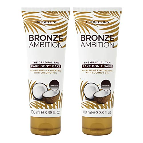 Creightons Bronze Ambition Fake Don't Bake Natural Looking Tanning Cream by Creightons -
