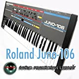 for Roland Juno-106 - the KING of Analog sound - unique original Huge WAVE/Kontakt Multi-Layer Samples Library on DVD or download