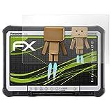 atFolix Displayschutz für Panasonic ToughBook CF-D1 Spiegelfolie - FX-Mirror Folie mit Spiegeleffekt