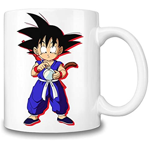 Kid Goku And Clock Taza