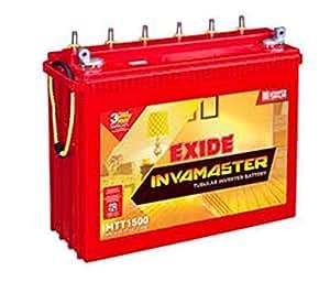 exide inva master tubular battery 150ah 12v white red. Black Bedroom Furniture Sets. Home Design Ideas