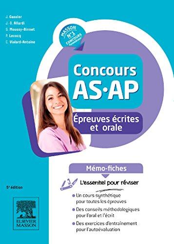 Concours AS/AP - Épreuves écrites et orale - Mémo-fiches: L'essentiel pour réviser
