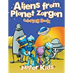 Aliens from Planet Zargon Coloring Book