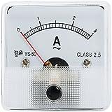 AC 0-3A clase 2,5 analógico baritina con pantalla de gran calibre