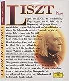 """Franz Liszt: Konzert für Klavier und Orchester Nr. 1 es-Dur / Klaviersonate h-Moll / Années de pèlerinage """"Pilgerjahre"""" Première année: Suisse (Erstes Jahr: Schweiz) / Troisième année: Italie (Drittes Jahr: Italien). Buch & CD - Klavier Lazar Berman"""
