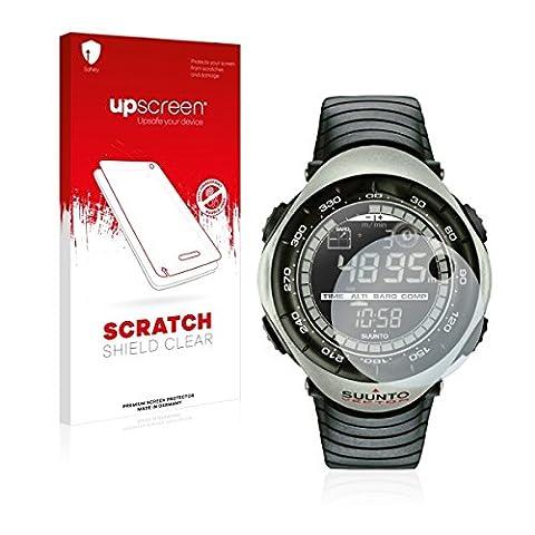 upscreen Scratch Shield Clear Film de protection d'écran Suunto Vector Khaki (haute transparence, anti-trace, application sans soufflures, découpe sur mesure)