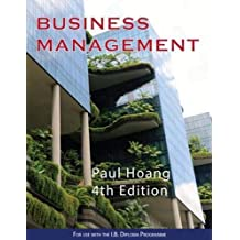 Business Management 4th Edition (For use with the I.B. Diploma Programme)