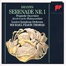 Brahms : S�r�nade n� 1 - Ouverture Tragique / Ouverture pour une f�te Acad�mique