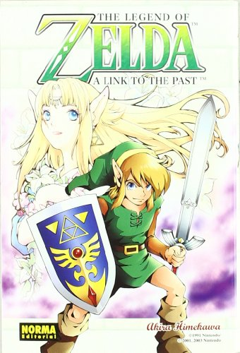 THE LEGEND OF ZELDA 04: A LINK TO THE PAST (CÓMIC MANGA)