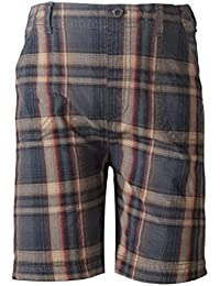 Sera Boys Charcoal Cotton Pull On Shorts