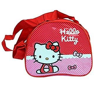 Producto oficial de diseño de Hello Kitty para caza con forma de bolsa de viaje diseño de lazos de para el hombro