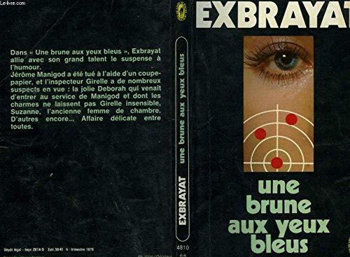 Une brune aux yeux bleus par Charles Exbrayat