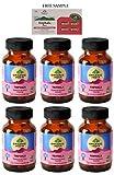 Organic India Triphala - 60 Veg Capsules - Pack of 6