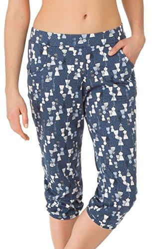 Calida - Chemise de nuit - Femme Bleu jeans foncé