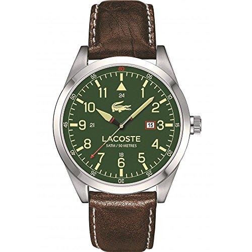 Lacoste Hombre Reloj de Pulsera analógico Cuarzo Piel 2010781