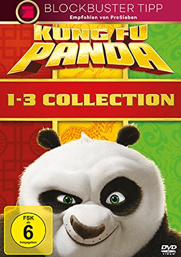 Bild von Kung Fu Panda 1-3 Collection [3 DVDs]