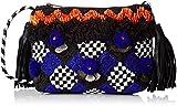 Antik Batik Damen Iman Pouch Taschenorganizer, Mehrfarbig (Multico), 7x15x20 cm
