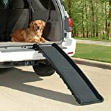 PetSafe Solvit Ultrlite Bi-Fold Pet Ramp, Compact and Lightweight
