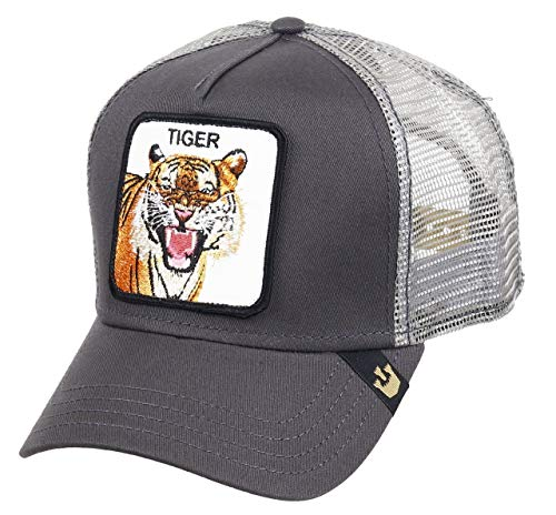 Gorra Trucker Goorin Eye of The Tiger Gris Unica Gris